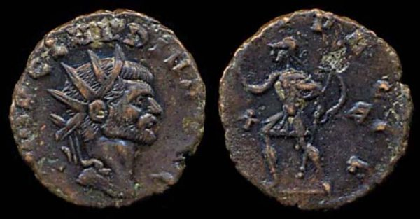 ROMAN EMPIRE, Claudius II, 268-270 AD, billon antoninianius