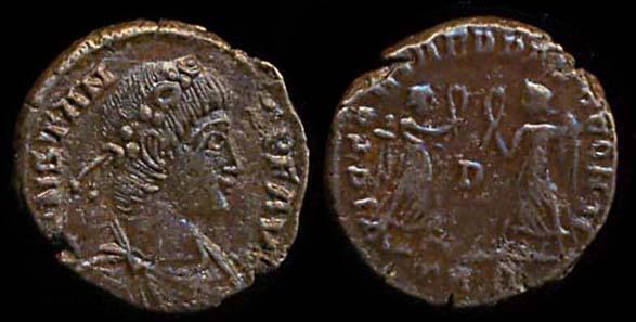 ROMAN EMPIRE, Constans, 337-350 AD, billon centenionalis