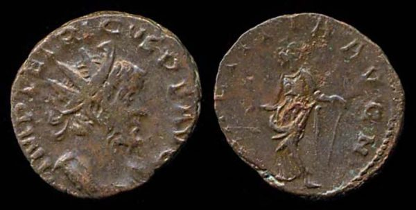 ROMAN EMPIRE, Tetricus I, 270-273 AD, billon antoninianius