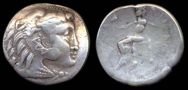 DANUBIAN CELTS, late 2nd century BC, silver tetradrachm