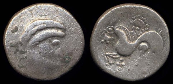 EASTERN CELTS, PANNONIA, c. 200-100 BC, base silver tetradrachm