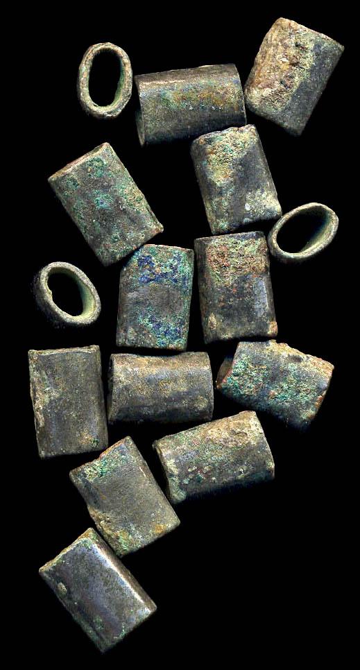 CHINA, ZHOU-HAN periods, c. 1000-200 AD, bead lot
