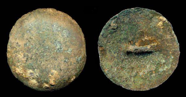 CHINA, ZHOU period, c. 1000-250 BC, button