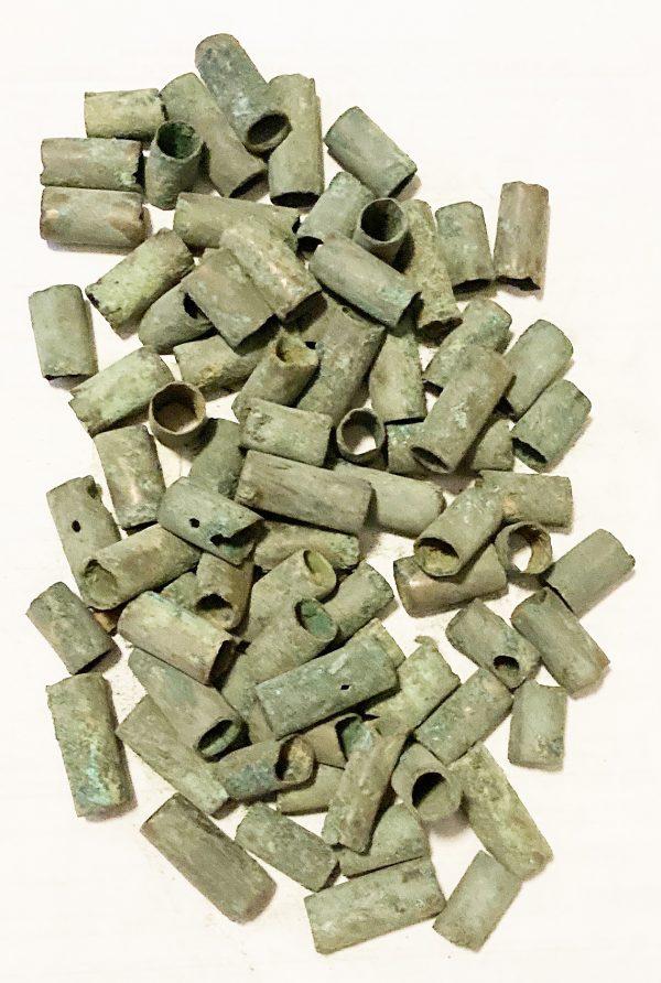 CHINA, ZHOU-HAN periods, c. 1000-200 AD, tube bead lot
