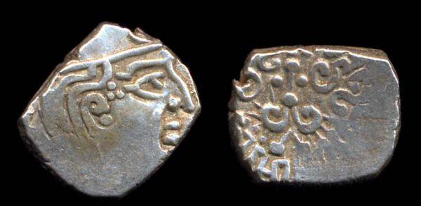 GUPTA, Kumaragupta, 414-455 AD, silver drachm