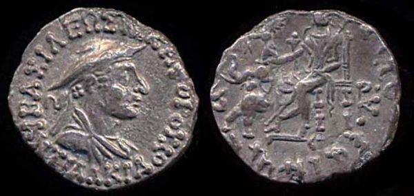INDO-GREEK, Antialkidas, c. 145-135 BC, silver drachm