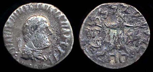 INDO-GREEK, Apollodotos II, c. 110-80 BC, silver drachm