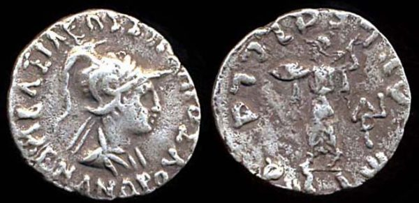 INDO-GREEK, Menander, c. 160-145 BC, silver drachm