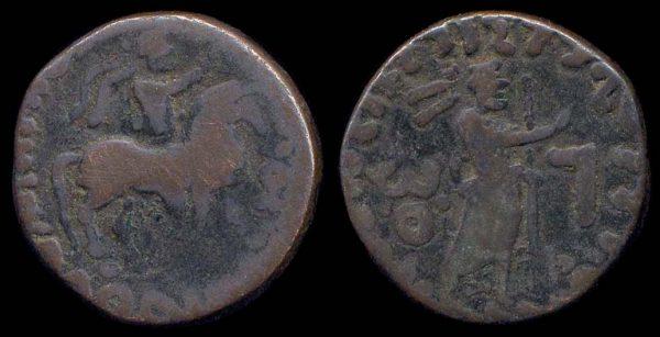 INDO-PARTHIAN, Gondophares-Sases, c.35-55 AD, billon tetradrachm