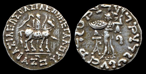 SCYTHIAN, Azes, c. 58-20 BC (Senior), silver tetradrachm