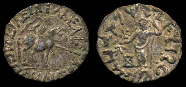 SCYTHIAN, Spalirises & Azes, c. 60-55 BC, silver drachm