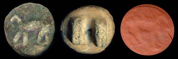 PAKISTAN, GREEK-SCYTHIAN?, c. 300-100 BC, seal