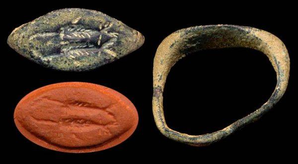 PAKISTAN, BAKTRIAN, c. 1000-500 BC, seal ring