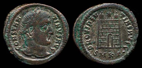 ROMAN EMPIRE, Constantine I, 307-337 AD, billon centenionalis