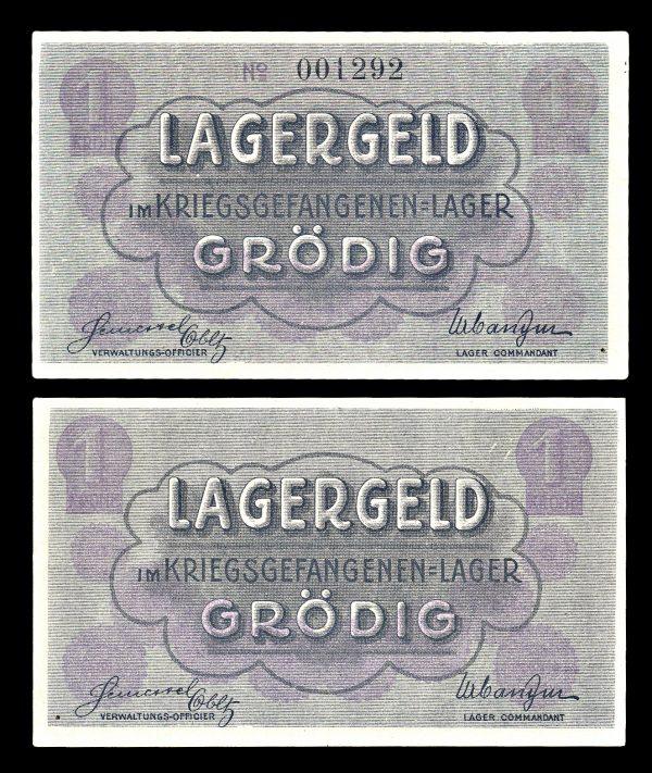 AUSTRIA, GRÖDIG Prisoner of War Camp, 1 krone