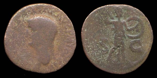 ROMAN EMPIRE, Claudius, 41-54 AD, as,