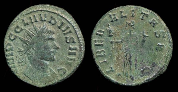 ROMAN EMPIRE, Claudius II, 268-270 AD, antoninianius,