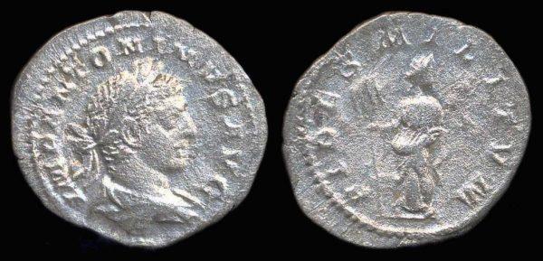 ROMAN EMPIRE, Elagabalus, 218-222 AD, denarius,