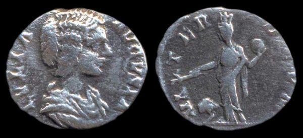 ROMAN EMPIRE, Julia Domna, 193-211 AD, denarius,