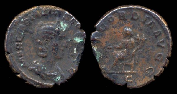 ROMAN EMPIRE, Otacilia Severa, 244-249 AD, as,