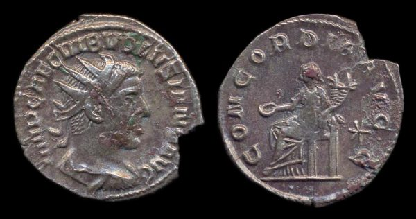 ROMAN EMPIRE, Volusian, 251-253 AD, antoninianius,