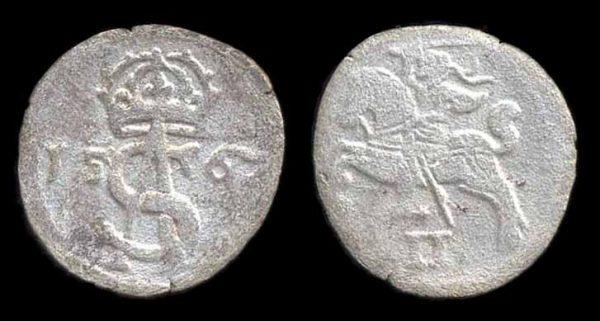 LITHUANIA, 2 denari, 1567