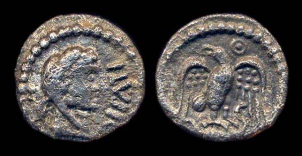 BRITAIN, ATREBATES & REGNI, Epaticcus, 35-43 BC, silver unit