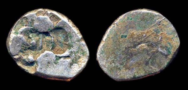 PANCHALA, circa 300 BC, silver karshapana