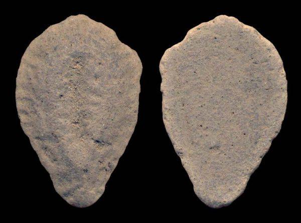 CHINA, ZHOU Dynasty, 1122-255 BC, clay imitation cowrie