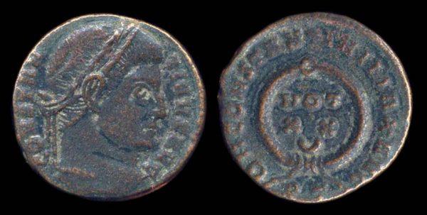 ROMAN EMPIRE, Constantine I, 307-337 AD, billon, centenionalis