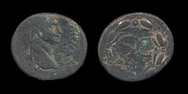 SYRIA: SELEUCIS & PIERIA, ANTIOCH, Trajan, 98-117 AD, bronze minor