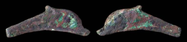 THRACE, OLBIA, 3rd century BC, bronze dolphin