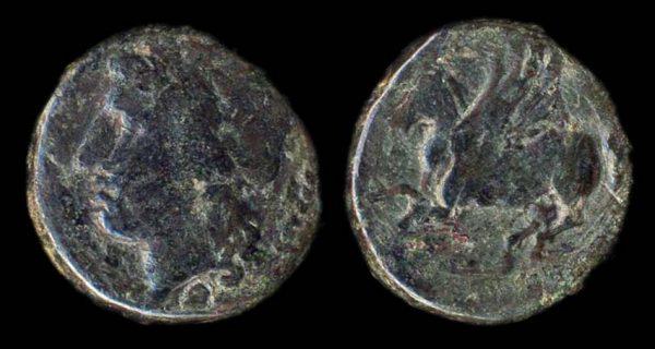 SICILY, SYRACUSE, time of Agathokles, 317-289 BC, bronze