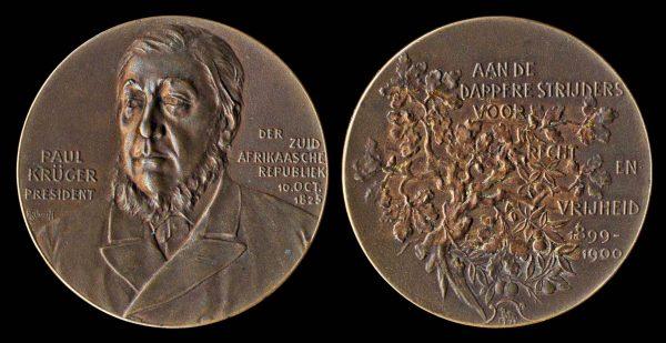 AUSTRIA, bronze medal for Boer War injured veterans, 1900