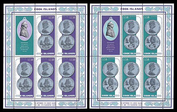 COOK ISLANDS stamps lot