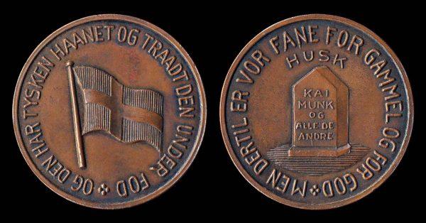 DENMARK, bronze Liberation medal (1945)