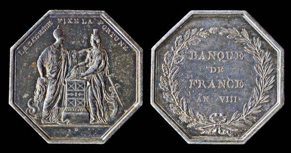FRANCE, silver jeton, 1799