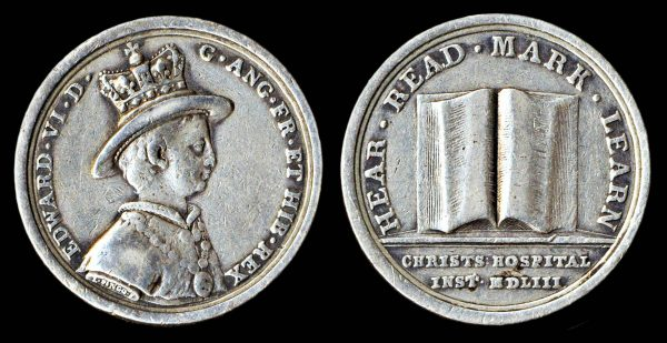 GREAT BRITAIN, silver medal, (1754)