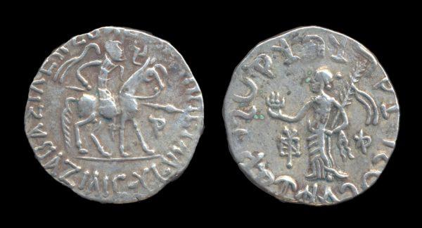 SCYTHIAN, Azilises, 57-c. 35 BC, silver tetradrachm