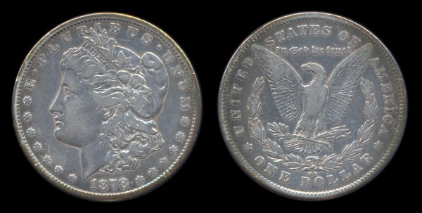 USA silver dollar 1878 CC