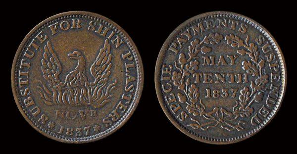 USA, Hard Times token 1837