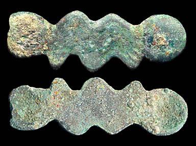 """CHINA, ancient bronze """"special"""" wawa"""
