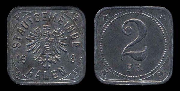 GERMANY, AALEN notgeld 1918