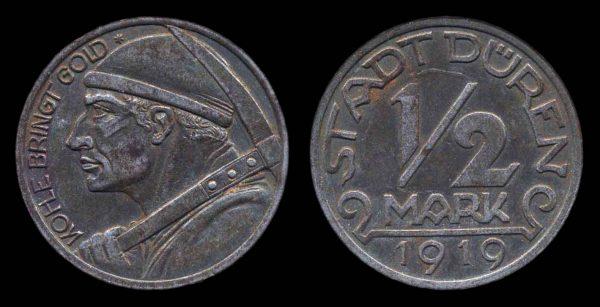 GERMANY, DÜREN notgeld 1919