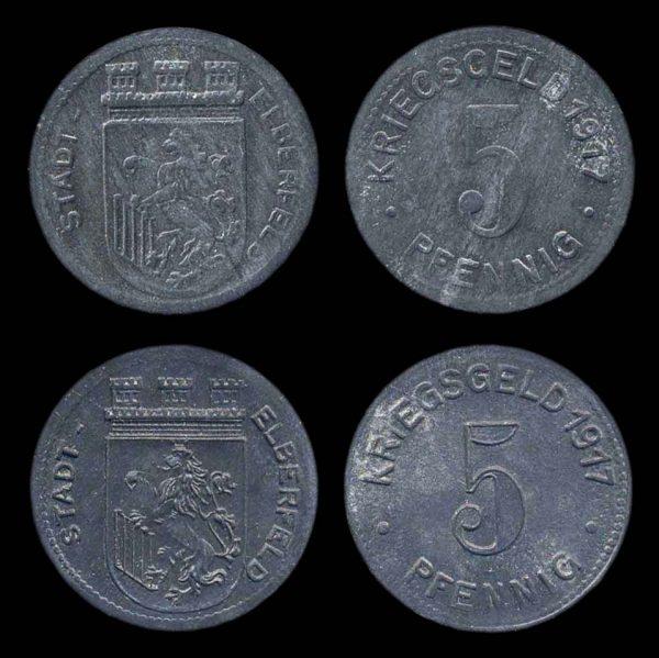 GERMANY, ELBERFELD notgeld 1917