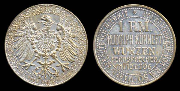 GERMANY, premium token, 1920s-30s