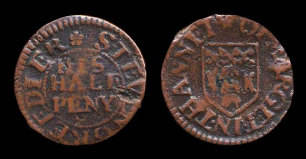 GREAT BRITAIN, KENT, Margate token 1648-80