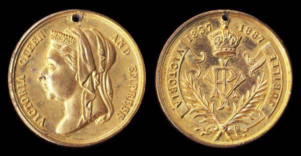 GREAT BRITAIN Victoria Jubilee medal 1887