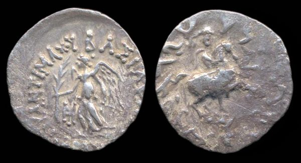 INDO-GREEK, Antimachos, c. 171-160 BC, silver drachm