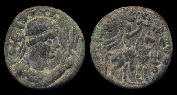 KUSHAN, Soter Megas, c. 55-105 AD, tetradrachm